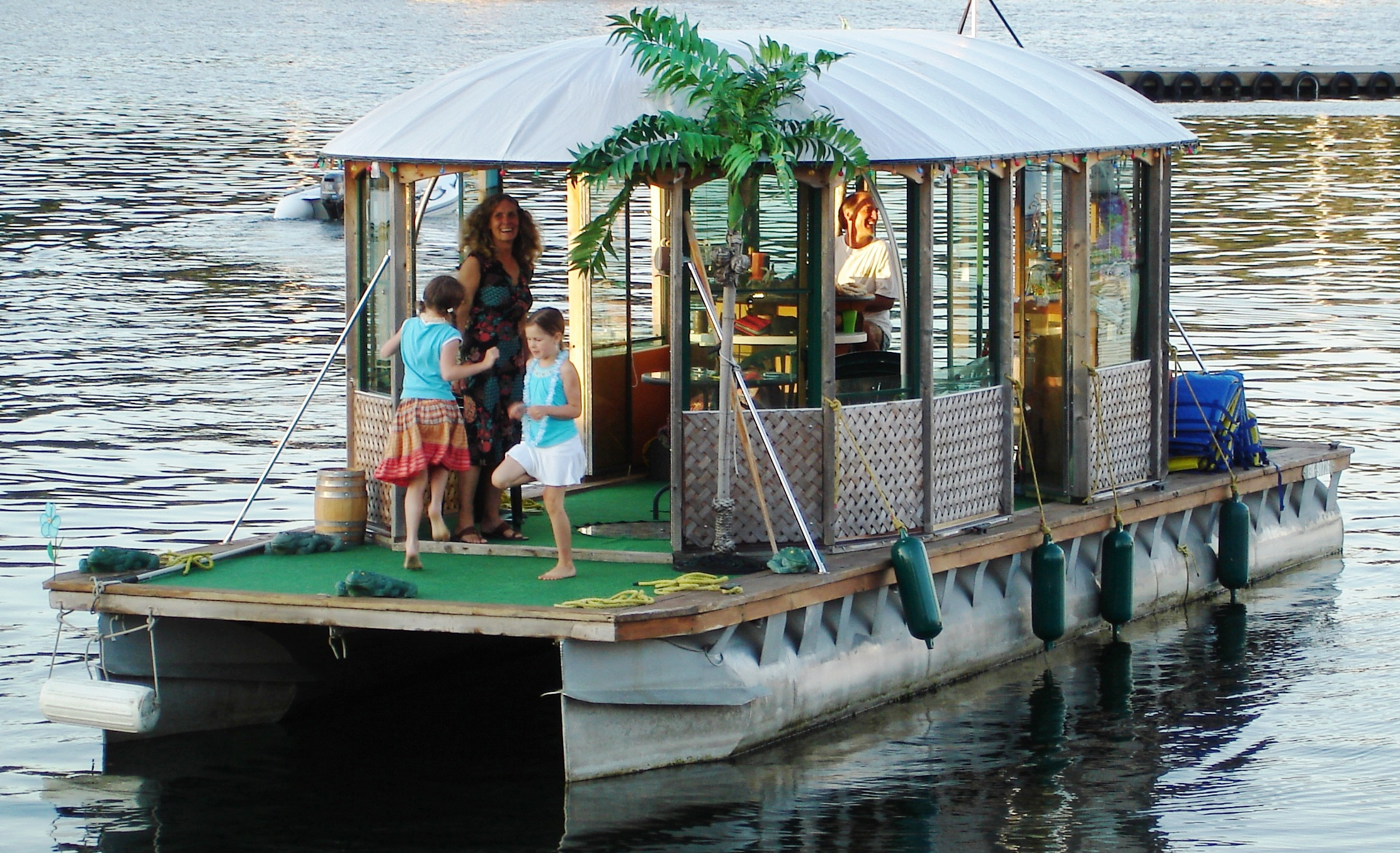Check Out Bud Light S Tribute To Mr Homemade Pontoon Boat Maker